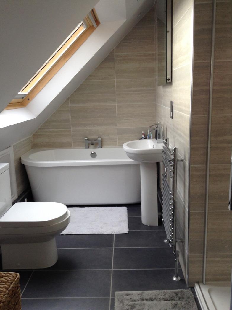 loft conversion designs for bungalows - Creating a loft bathroom