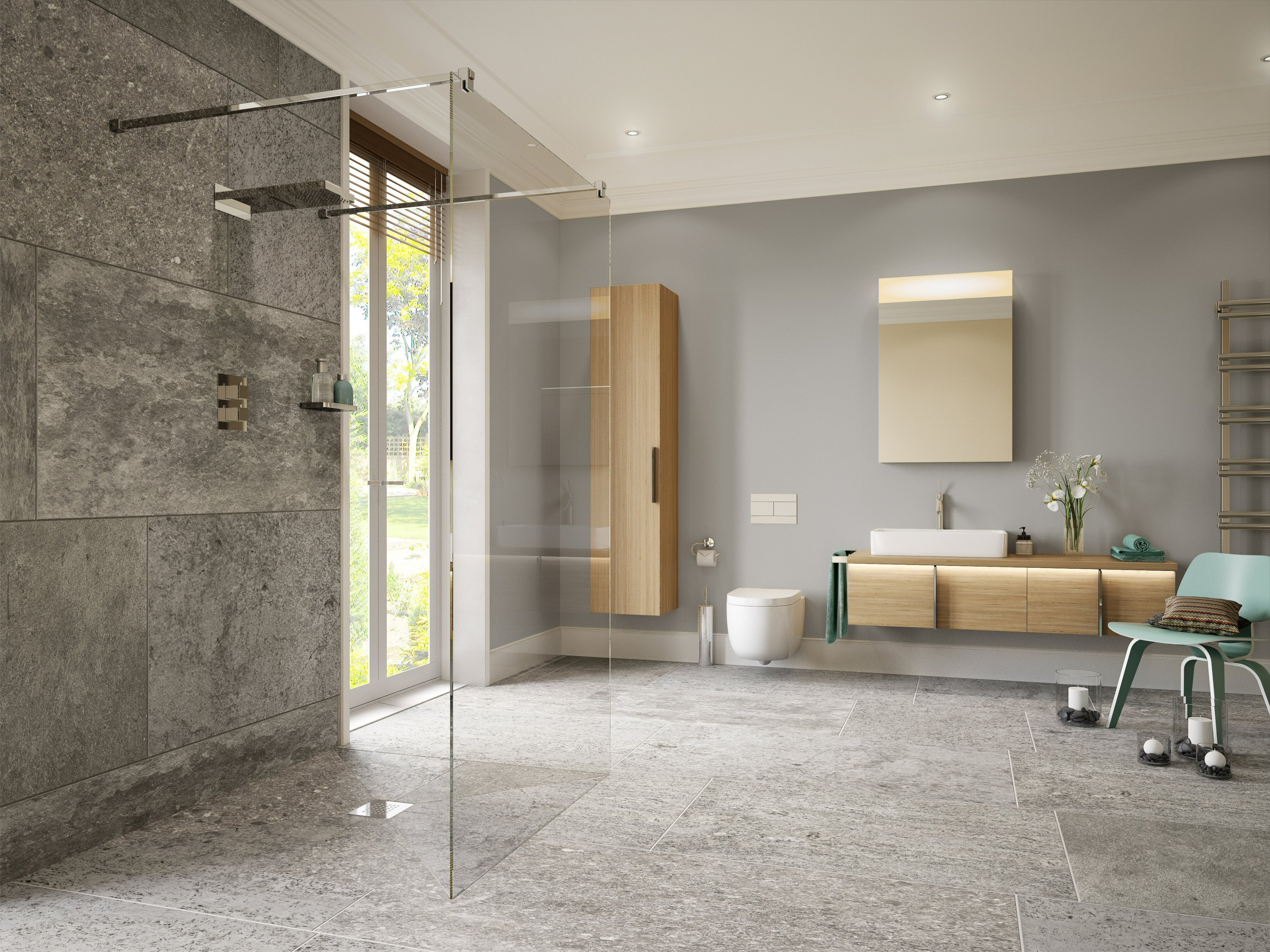 On the level lifetime wet rooms design buy build for Wet room design ideas pictures