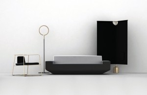 Frank Chou, an emerging Chinese designer, presents his new collection including the Kuan Chair, Ring Lamp, Nov Sofa and Ping Screen for Frank Chou Design Studio