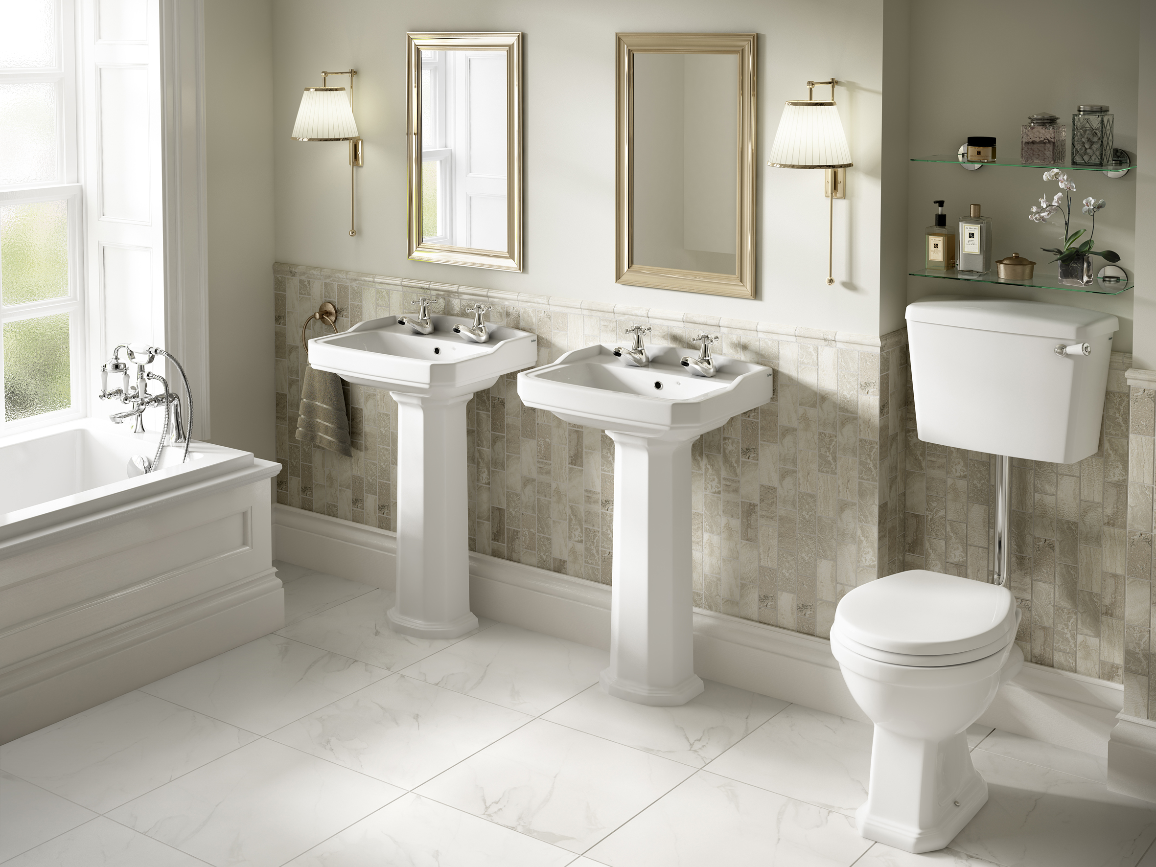 New roxton suite from lecico design buy build for Buy bathroom suite uk