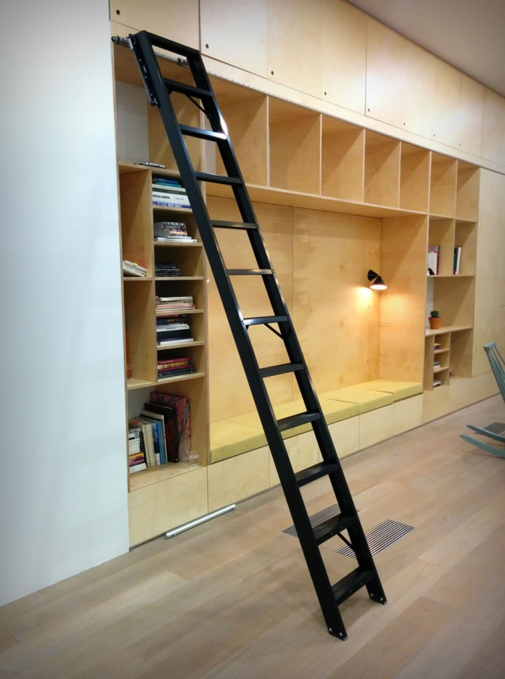 Rolling Library Ladders Design Buy Build
