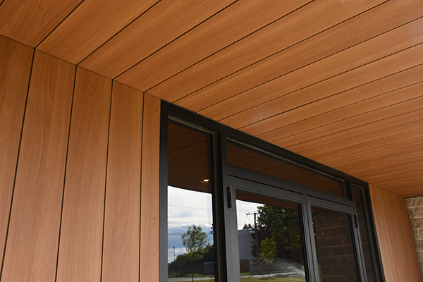 Trespa Pura Nfc 174 Real Wood Effect Cladding With No Need