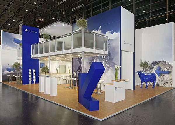 Exhibition Stand Regulations : Double decker interior structures and multi level exhibition